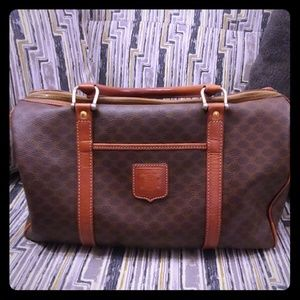 Vintage celine macadam boston bag